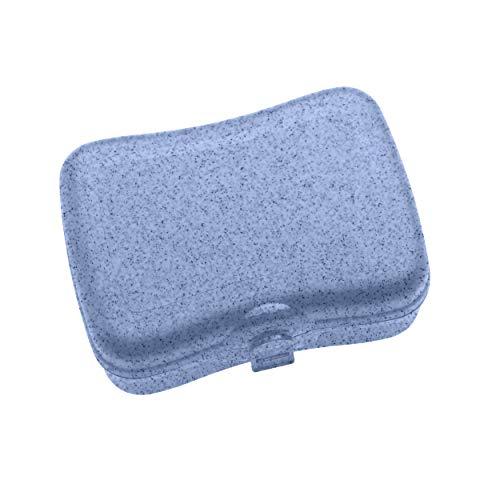 Koziol 3081671 Basic Boîte à Lunch en Plastique thermoplastique Bleu