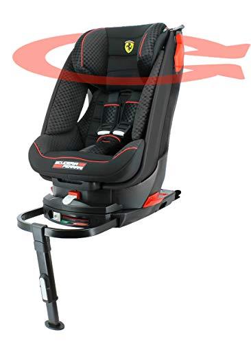 Siège auto Ferrari groupe 1 (9-18kg) – avec base isofix pivotante 360°