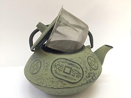 Tetera de hierro colado con filtro japonesa
