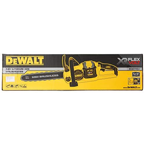 DeWalt dcm575x 1-qw–Tronçonneuse sans balais Flex Volt 54V 3Ah