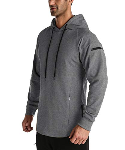 Men's Workout Hoodies for Gym and R…