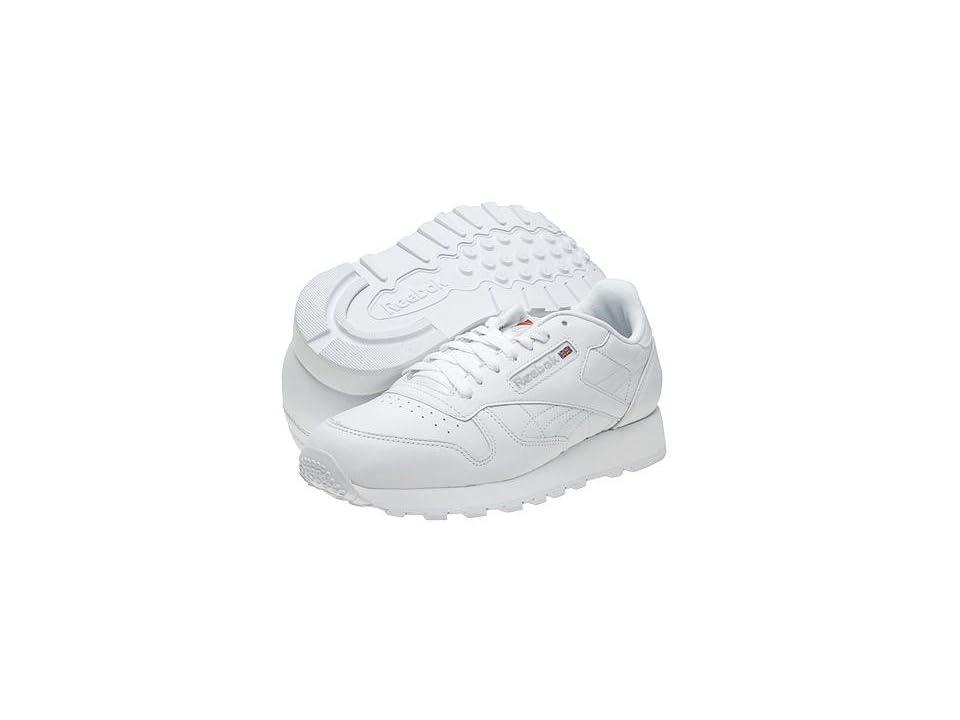 97c6b622e81 ... UPC 722977319991 product image for Reebok Lifestyle Classic Leather ( White White Light Grey