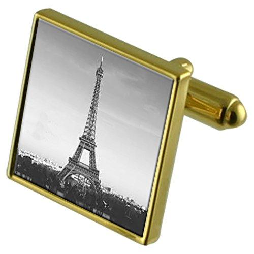 Select Gifts Paris Tour Eiffel l'or-ton sac en manchette