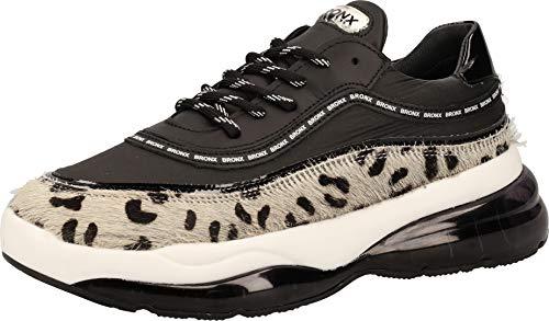 Bronx 66260-EP Damen Sneakers Schwarz, EU 38