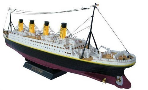 NQD 1/325 32in Huge Boat Radio Control TITANIC Speed Boat Triple-Motors