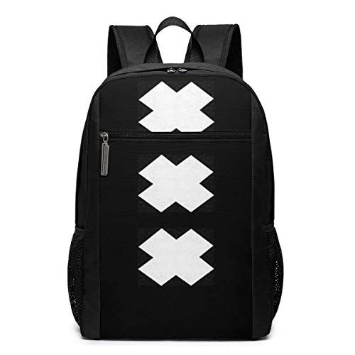 Lsjuee XXX-Blacklist Mochila Unisex Mochila Escolar Diaria Mochila Ligera de Viaje Informal para Acampar al Aire Libre