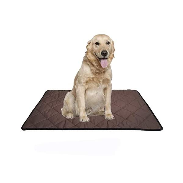 Voluka Dog Crate Bed Mat – Washable Kennel Pad, Anti – Slip Dog Crate Pad is Perfect for Dog Bed,Crate and Kennel