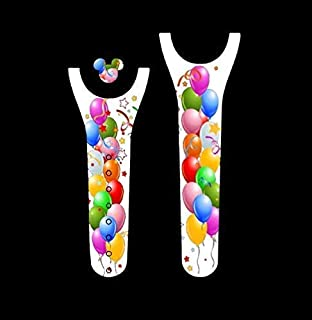 Vinyl Skin Decal Wrap Sticker Cover for the MagicBand 2 Magic Band 2 Happy Birthday Balloons