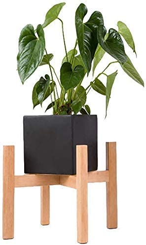 ZKAIAI Flower Rack,Floor-Standing Max 66% OFF Wood Stand Factory outlet European