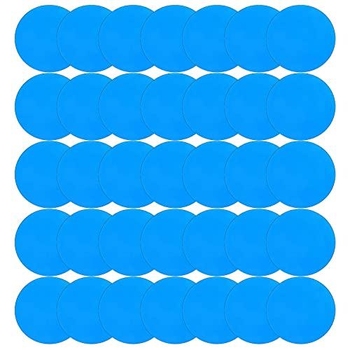 MEIYOUMK Patches für Pool Selbstklebender Reparaturflicken für Pool Patch Reparaturset PVC Reparaturset Pool Liner Patch, wasserdichter Selbstklebender Reparaturflicken Kit...