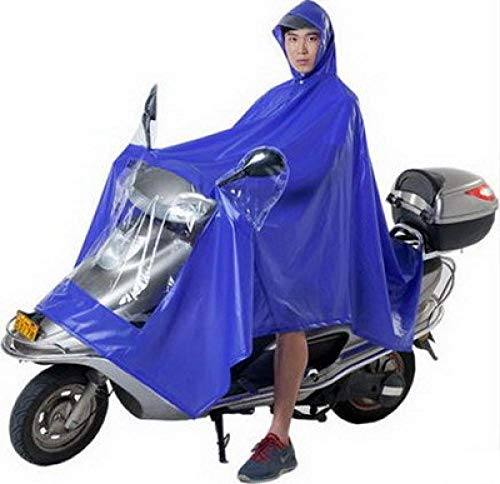 SHUHANX Poncho Impermeable Personas solteras Personas Dobles Poncho Impermeable de Bicicleta eléctrica...
