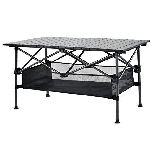 JONJUMP Mesa plegable de camping al aire libre mesa de cocina portátil de viaje mesa de campamento mesa plegable mesa de comedor