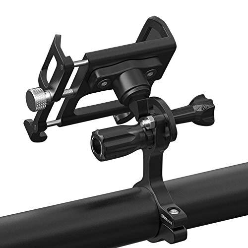 Soporte para teléfono móvil para bicicleta de Diantai, de aleación de aluminio, ajustable, universal