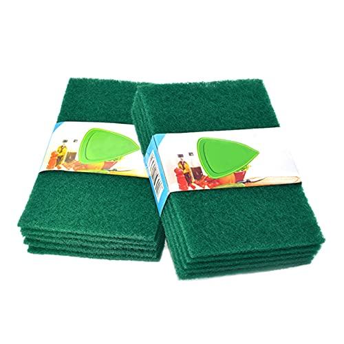 XIN NA RUI Keuken Spons 5 unids Pastillas de Limpieza de Limpieza Paño de Limpieza Toalla de Plato Verde Inicio Inicio Scour Scrub Set Material de Cocina útil Fácil práctico