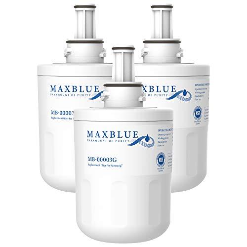 Maxblue DA29-00003G Kühlschrank Wasserfilter, Kompatibel mit Samsung Aqua Pure Plus DA29-00003G, DA29-00003B, DA29-00003A, DA97-06317A, DA61-00159A, HAFCU1/XAA, HAFIN2/EXP, APP100, WSS-1,WF289(3)