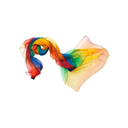 Eve in Paradise Etude II Schal regenbogen