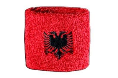 Flaggenfritze® Schweißband Albanien