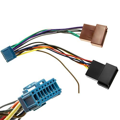 KFZ Auto Radio Adapter Kabel Stecker Kabelbaum DIN ISO kompatibel mit Pioneer Radio