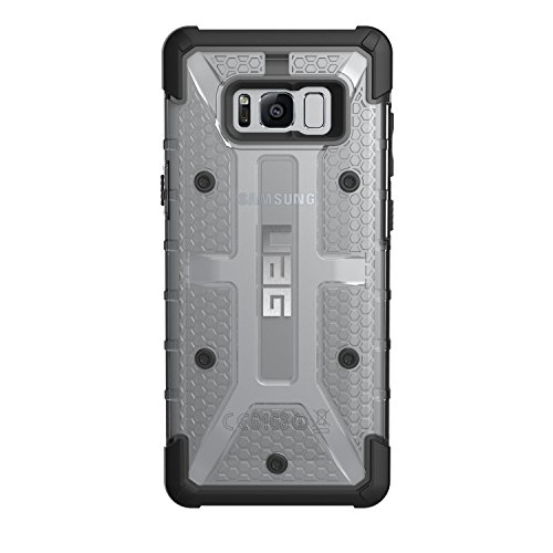 UAG Samsung Galaxy S8+ [6.2-inch screen] Plasma Feather-Light Rugged [ICE] Military Drop Tested Phone Case