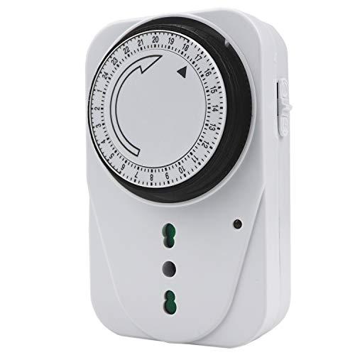 EXTRASTAR Timer presa elettrica,Programmatore Timer meccanico giornaliero,3680 W,250 V