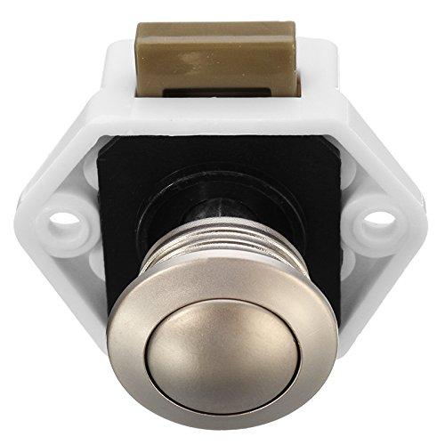 AVANI EXCHANGE P01-WN Camper Auto Push Lock 20mm RV Caravan Boat Wohnmobilen Schubladenverschluss Taste Locks