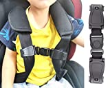 Child Car Seat Chest Harness Clip, Prevent Baby Belt from Falling Off, Fit Harness Width Within 1.37in