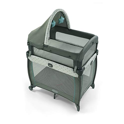 Graco My View 4 in 1 Bassinet   Baby Bassinet with 4 Stages, Including Raised Bassinet at Eye Level, Ramley