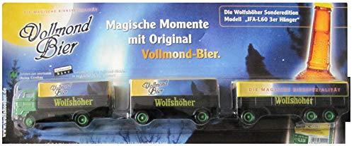 Wolfshöher Nr.56 - Vollmond Bier - IFA L60 - Hängerzug Oldie mit 2 Hängern
