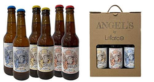 Cervezas Artesanas Latarce | Pack Cartón Mix 6 Cervezas Angel