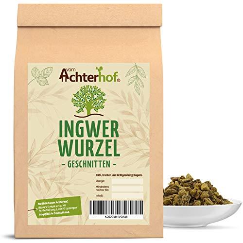 500 g Ingwerwurzel geschnitten getrocknet Ingwer Tee Kräutertee vom-Achterhof