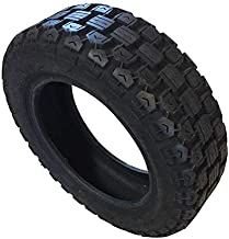 M4M Hybrid Tire for Segway miniPRO and Segway miniLITE Maximum Speed Increase up to 12.5 mph and Durability. Tubeless Tires. Tire Size is 90/65-6.5. Attention: Will Require Off Road fenders!