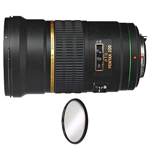 Pentax SMCP-DA 200mm f/2.8 ED (IF) SDM Autofocus Lens for Digital SLR + UV Protective...