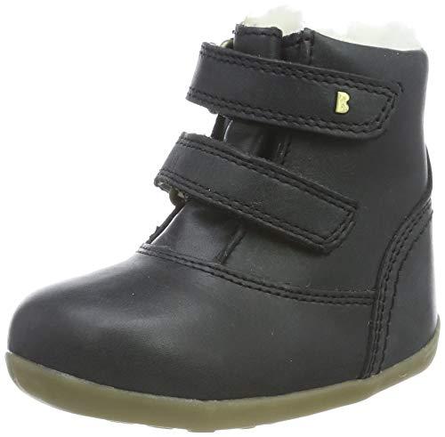 Bobux Unisex-Kinder SU Aspen Winter Boot Ash Stiefel, Schwarz (Black), 18 EU