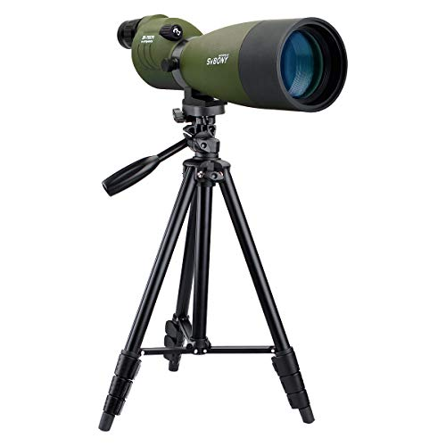 SVBONY SV17 25-75x70mm Spotting Scope Straight Waterproof Spotting Scope for...