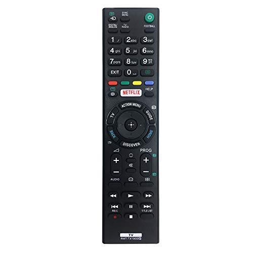 MYHGRC Ersatz-Fernbedienung RMT-TX100D für Sony Bravia Fernbedienung passend für Sony Smart TV, keine Einrichtung erforderlich, Universal-Fernbedienung