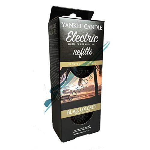 Yankee Candle Scentplug Ricarica per Diffusore Elettrico, Black Coconut