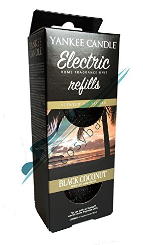 Yankee Candle 5038580073737 Electric Refills Black Coconut YEUBC2, one Size, …