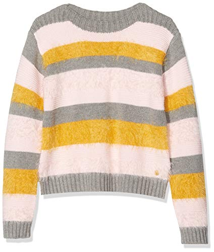 ESPRIT KIDS Mädchen RP1806309 Sweater Pullover, Grau (Dark Heather Grey 201), 92/98 (Herstellergröße: 92+)