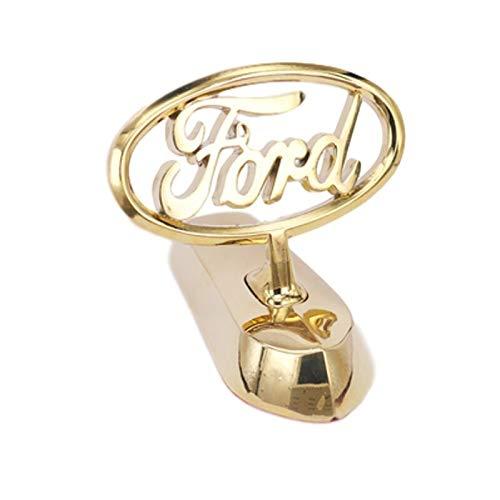 Emblema De Repuesto Pegatina de emblema del capó de coche Compatible con Ford Mustang Shelby Focus 2 Ranger Mustang Kuga Mondeo Explorer EcoSport Galaxy Transit Front Badge Placa de nombre