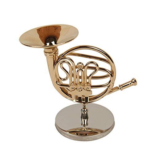 Sawanica Mini-Musikinstrument Modell Französisches Horn 10CM mit Geschenk Box