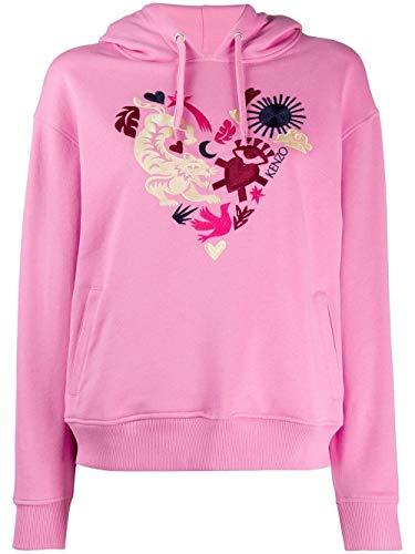 Kenzo Luxury Fashion Damen FA52SW8684Z830 Rosa Sweatshirt | Frühling Sommer 20