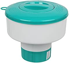 POOLWHALE Pro Pool Chemical Dispenser Offers Strong Floating Chlorine Dispenser for Indoor & Outdoor Swimming Pools, Up to 3
