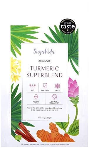 Sugavida | Turmeric Latte Mix - Original | 5 x 80g