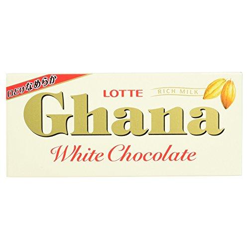Lotte Ghana Rich Chocolate con leche bar Japón Snack...