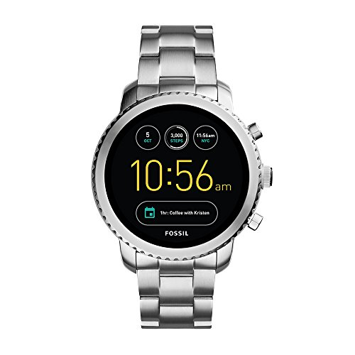 Fossil Explorist Analog-Digital Black Dial Men's Watch - FTW4000