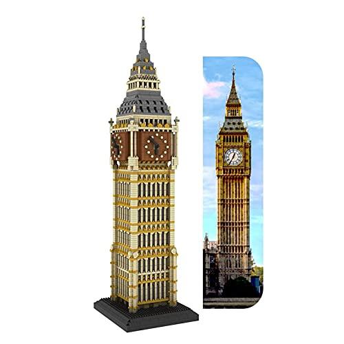 kyman Micro Mini Bloques Mundo Famoso Piezas Piezas Pequeñas Partículas, Edificio para niños Bloques de construcción educativos DIY Juguetes, Rompecabezas 3D de la Arquitectura (Size : 3660PCS)