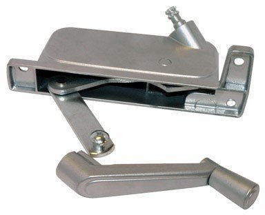 Barton Kramer Window Operator Right Hand 5-1/4 Aluminum Silver by BARTON KRAMER