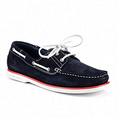 Lumberjack Navigator Boat Schuhe für Herren, - Universe Blue - Größe: 46 EU