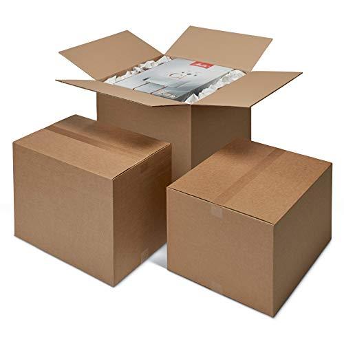 ratioform - Scatola Di Cartone 50 x 30 x 30 cm - Scatolone per trasloco e imballaggi a onda singola