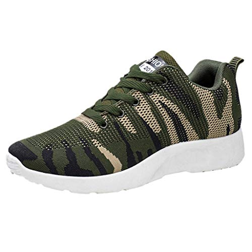 ZARLLE Zapatillas Hombre Running,Zapatillas Hombre Casual Camuflaje Zapatillas Deporte Hombres Calzado Deportivo para Correr Zapatillas Ligeras Transpirables 39-44